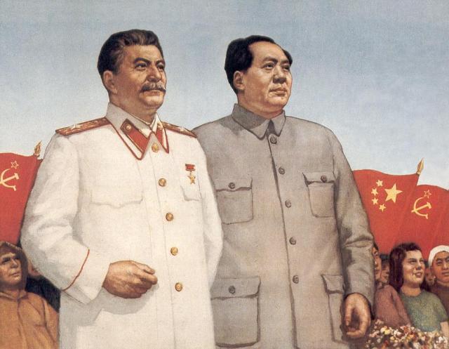 Stalin and Mao